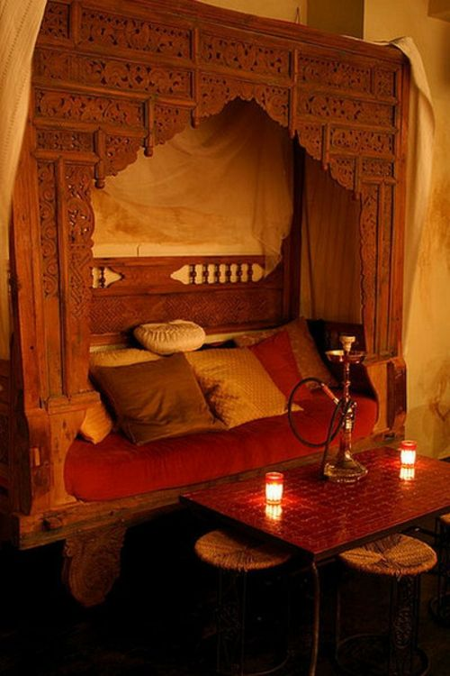 22 marokkanische Wohnzimmer Deko Ideen-Einrichtungsstil aus dem ...