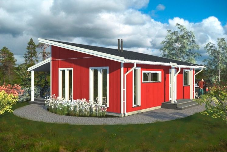 fertighaus dublin casa pinterest house tiny house cabin und bungalow. Black Bedroom Furniture Sets. Home Design Ideas