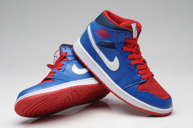 Air Jorden No.1 Retro blue red  e50ea63b5