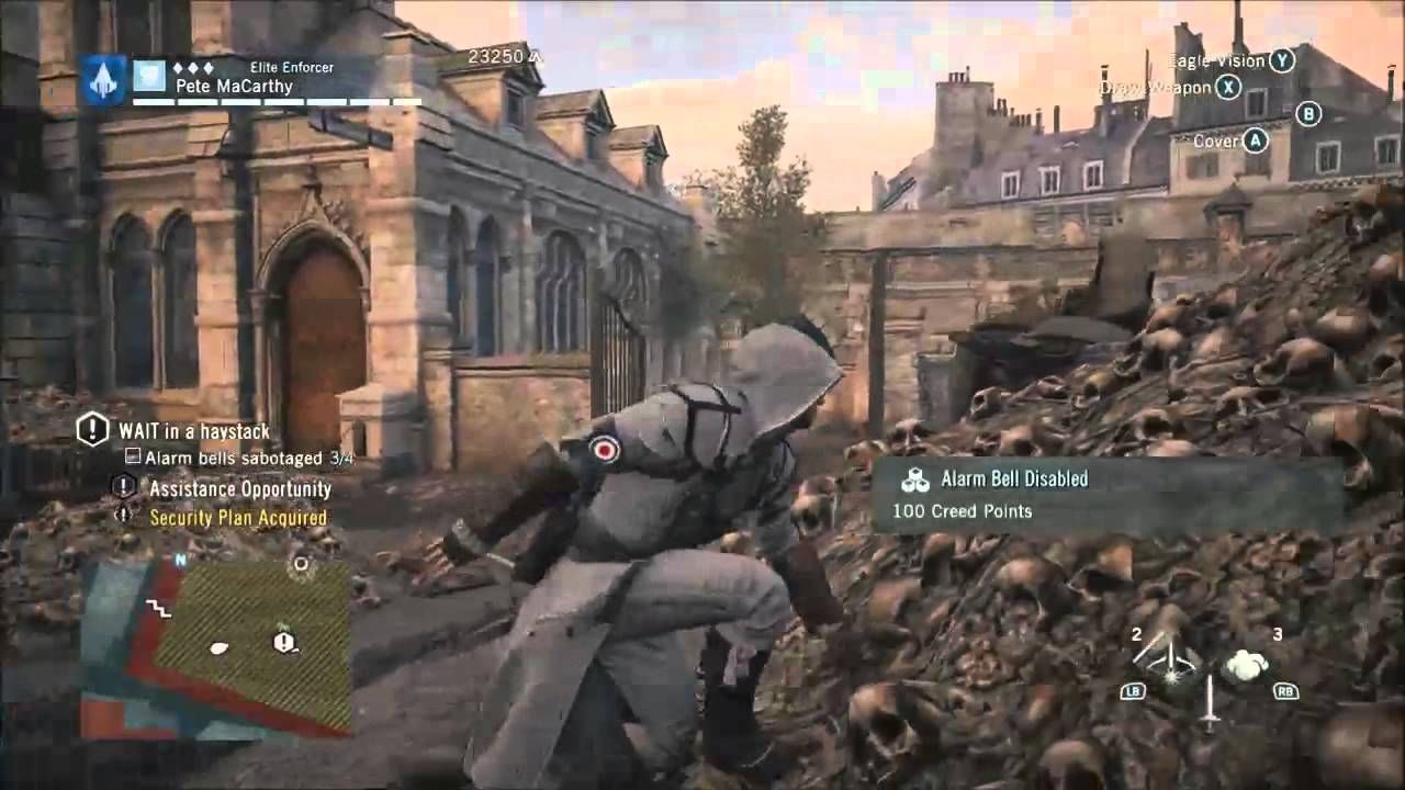 Assassins Creed Unity Gameplay Walkthrough Part 12 Sequence 5