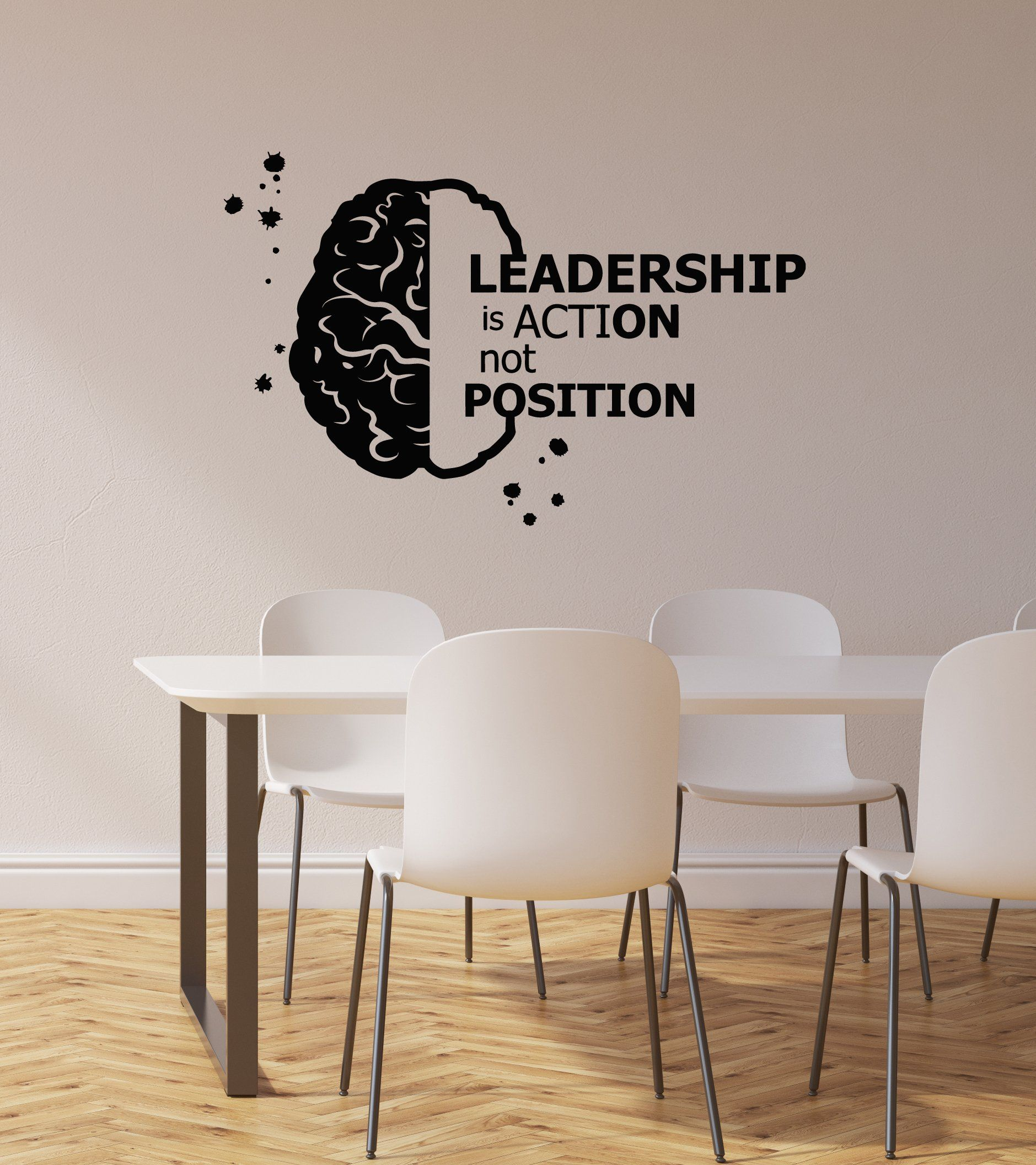 Vinyl Wall Decal Office Idea Strategy Management Succes Lamp Stickers g1320