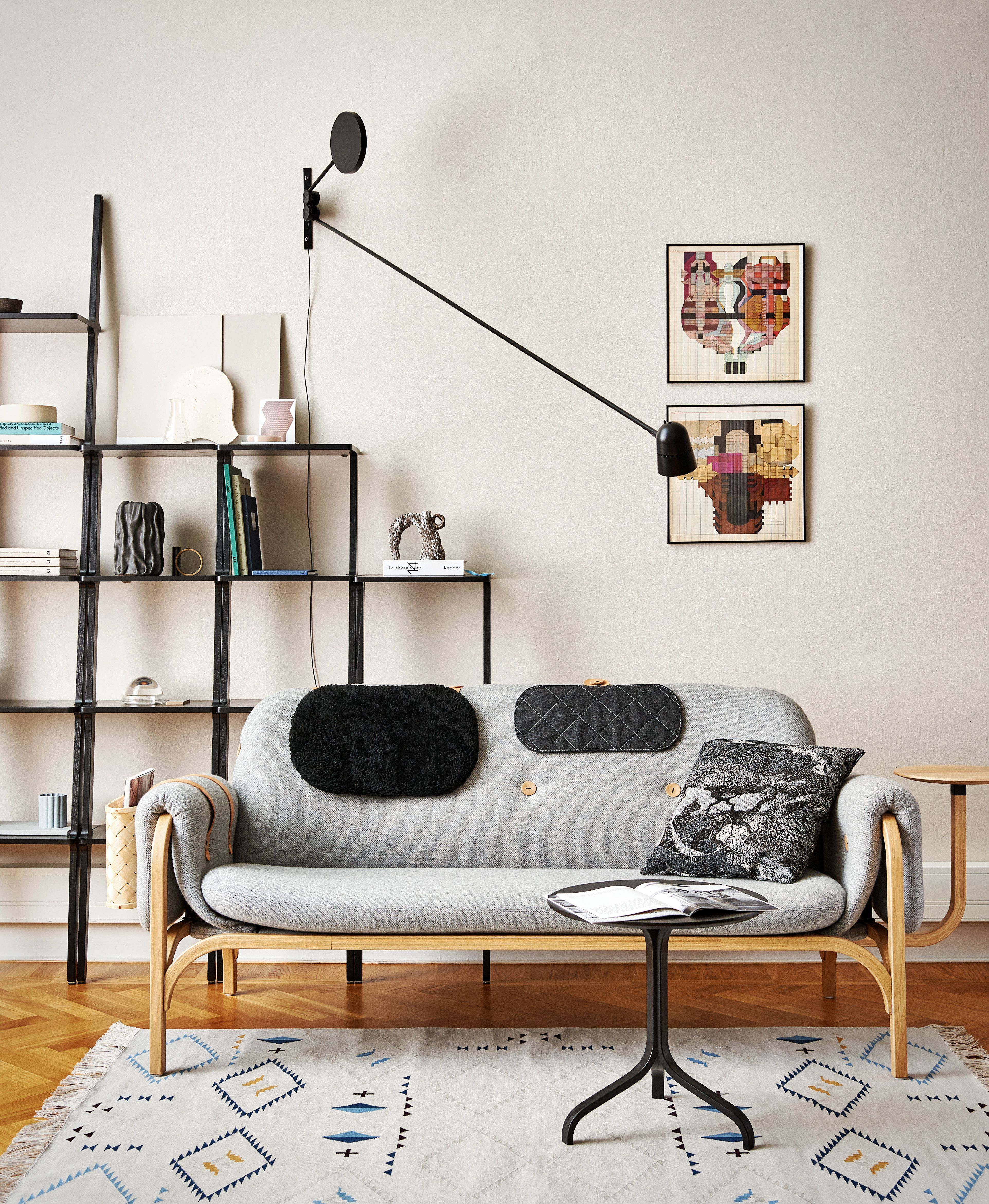 For Button Sofa Front Has Found Inspiration In The Swedese Archives In Order To Express The Scandinavian Heritage That Is So Mobelideer Mobeldesign Interiorer