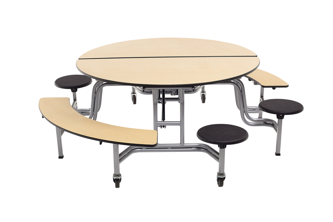 Mobile Stool And Bench Table Bench Table Table Cafeteria Table