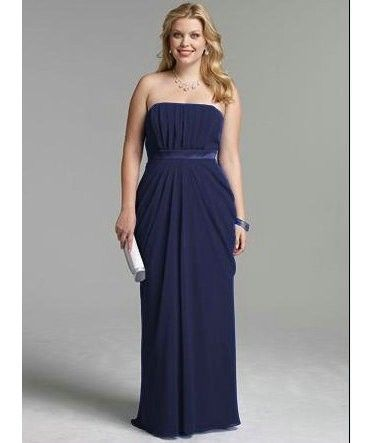 Emejing Navy Blue Plus Size Bridesmaid Dresses Photos ...