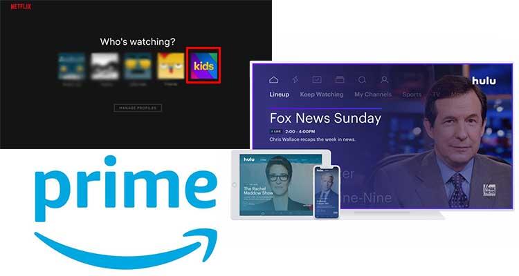 Netflix vs. Hulu vs. Amazon Prime M4VGear