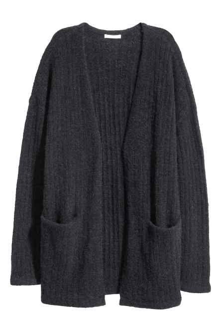 Mohair-blend cardigan