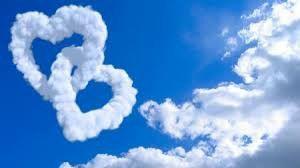 دو قلب Heart Wallpaper Love Wallpaper Clouds