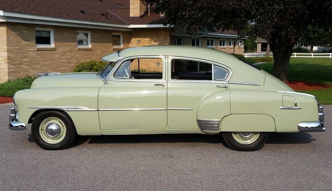 1951 Chevrolet Fleetline Deluxe 4 Door Sedan Maintenance Restoration Of Old Vintage Vehicles The Material For New