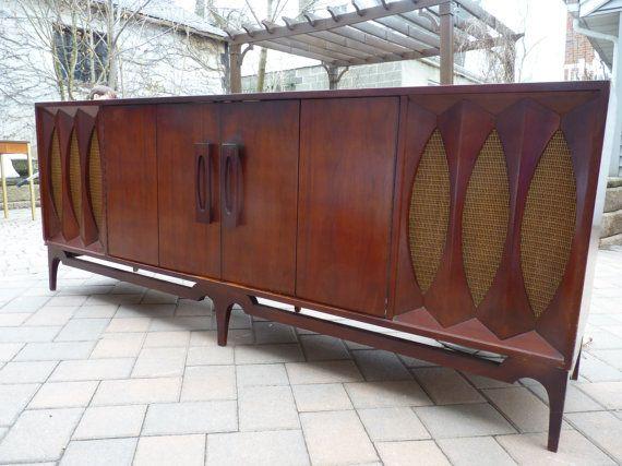 PHENOMENAL Mid Century Modern CREDENZA Stereo Cabinet By CIRCA60