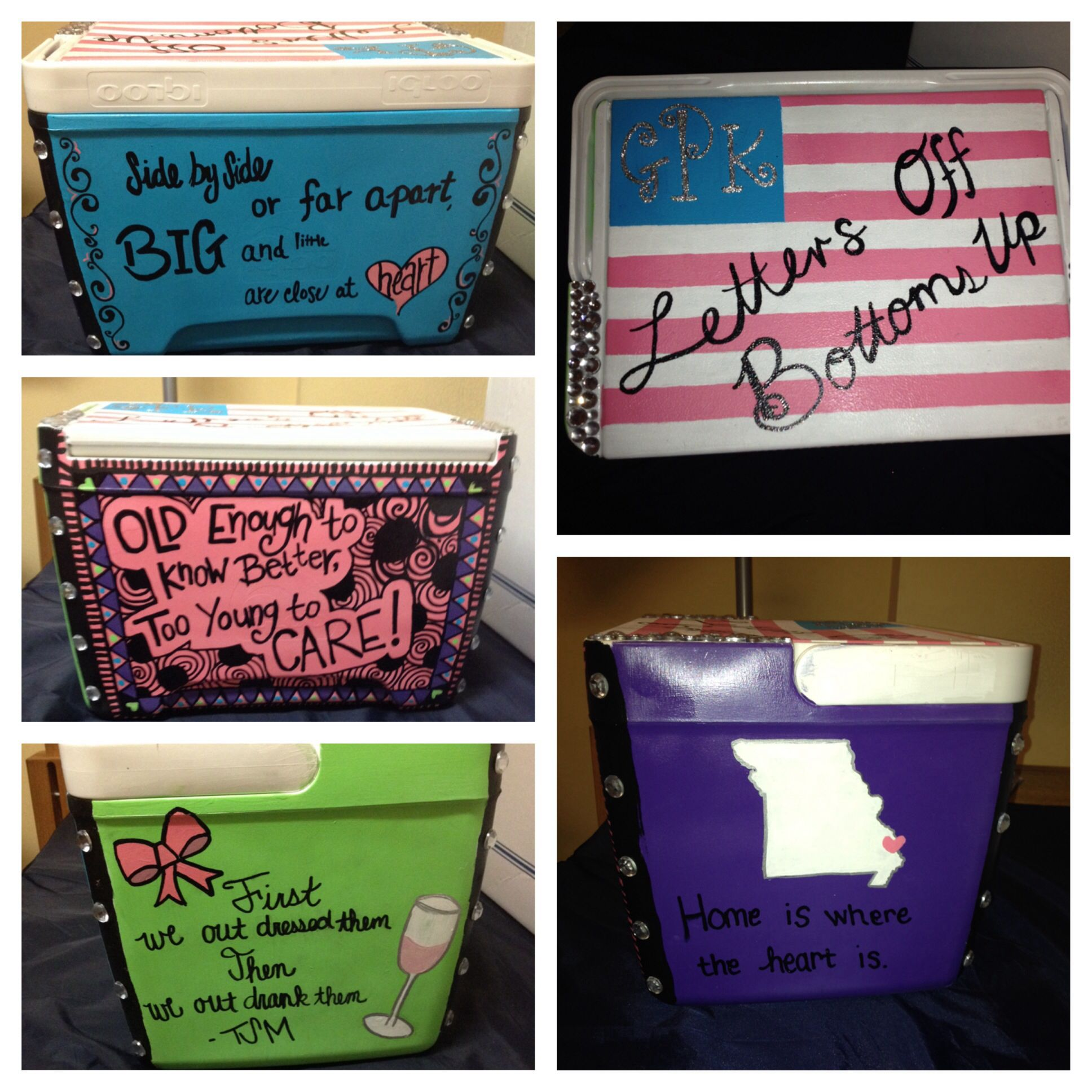 My sister's Big Cooler! Finally finished!