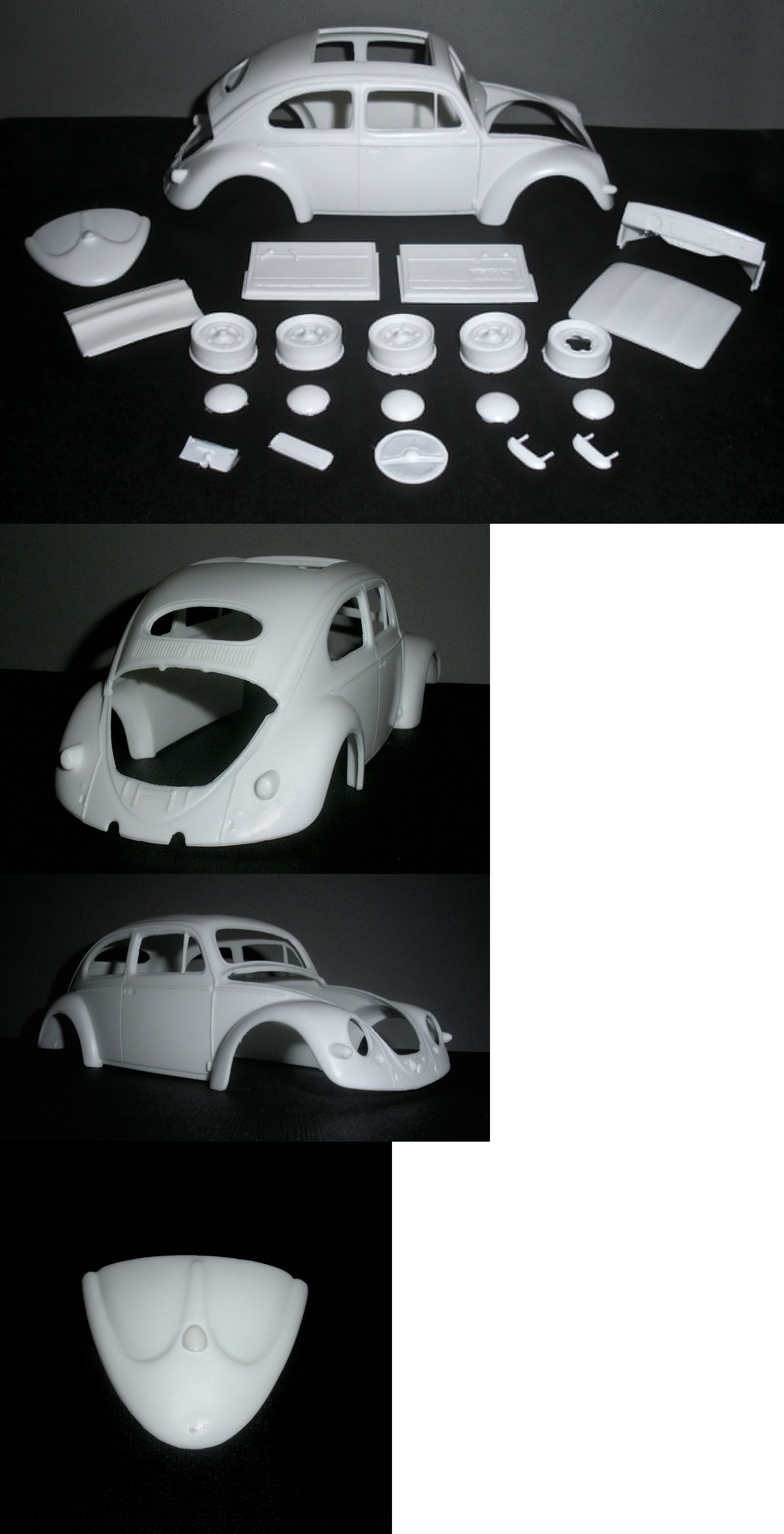Classic 2581 1957 Vw Oval Window Sunroof Resin Conversion