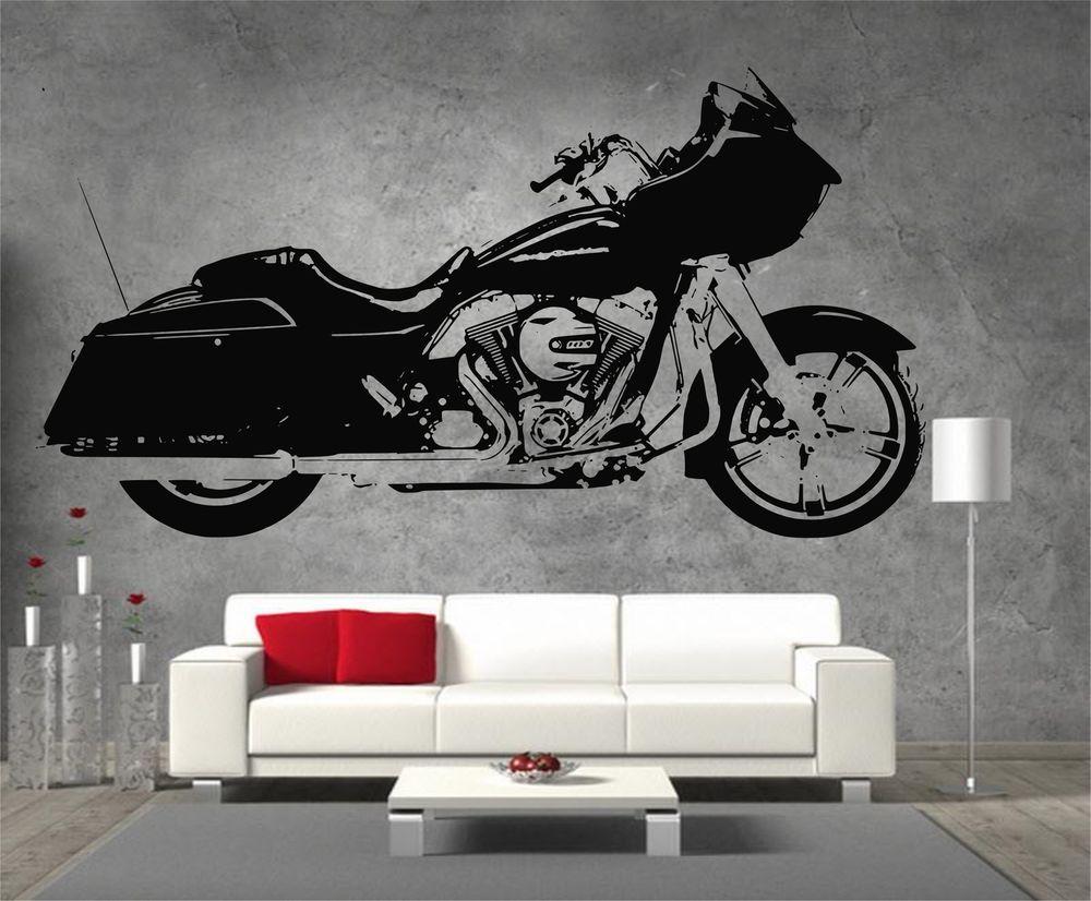 Harley Davidson Chopper Sons Of Anarchy SOA Motor Bike Vinyl - Stickers for motorcycles harley davidsonsmotorcycle decals and stickers
