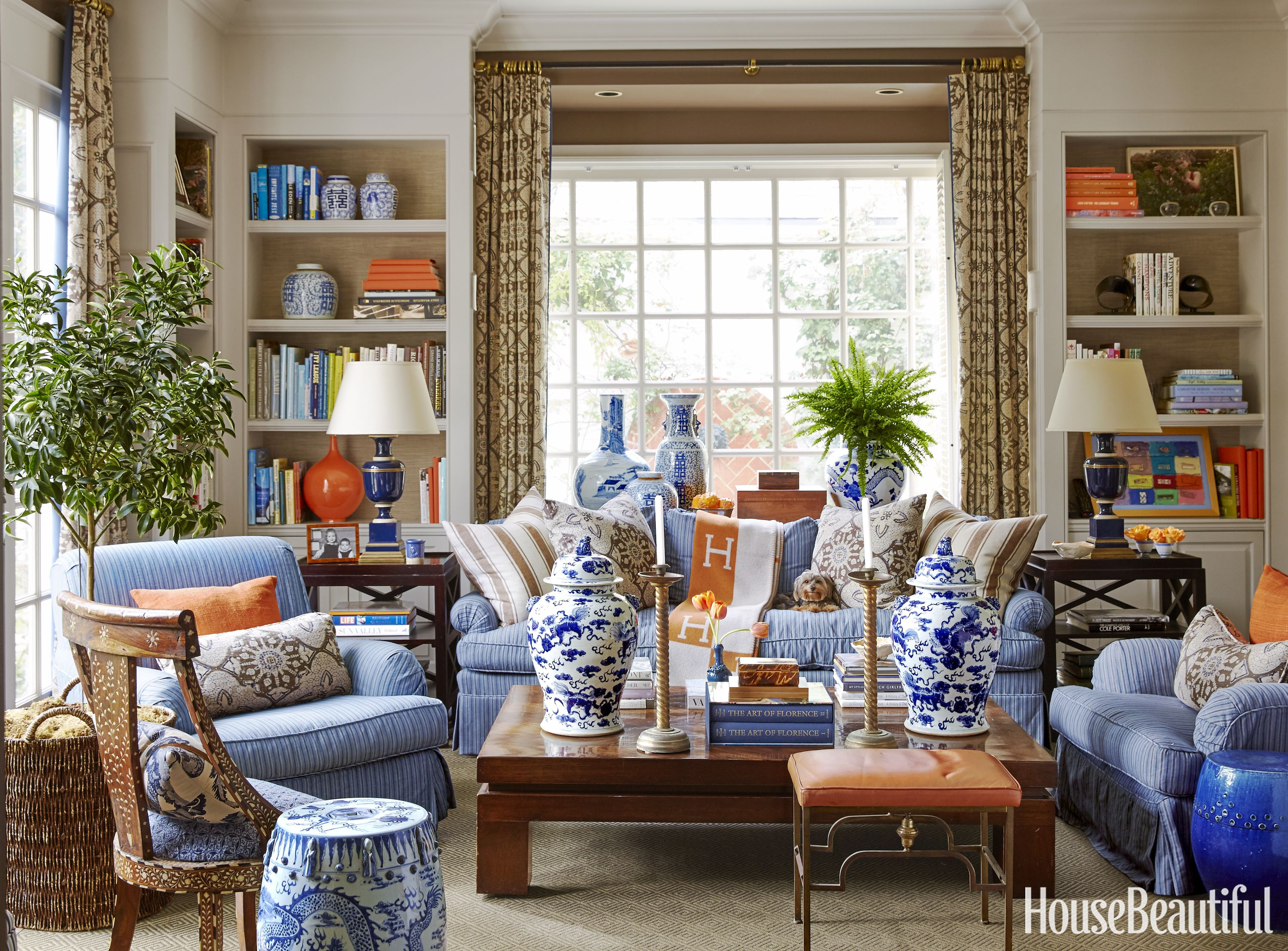 Www.housebeautiful.com 45 Classic Library Design Ideas  Living Rooms Room And Decorating
