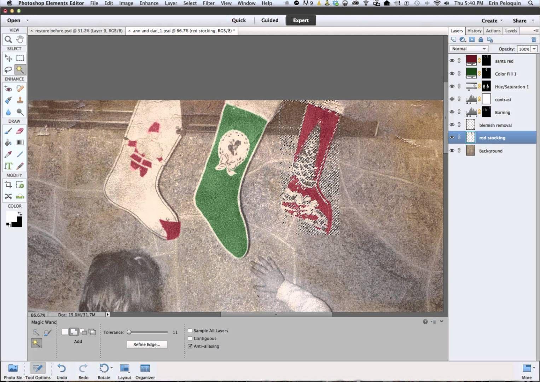 Restore Old Photo Using Photoshop Elements Photoshop Elements Photoshop Photo Restoration