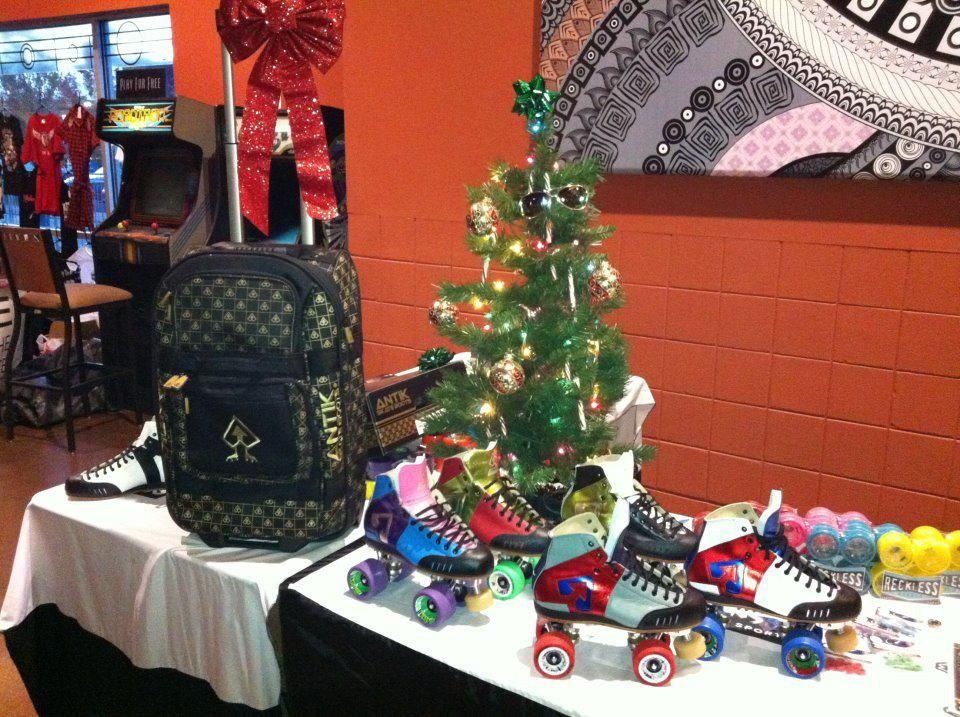 metallic Antiks! And the skate bag!