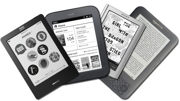 Image result for kindle vs kobo vs nook