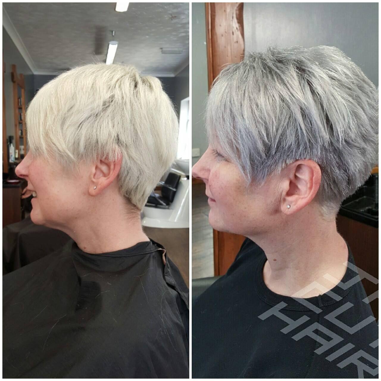 Pin By Marilyn Morrison On Hair Pinterest Pixie Haircut Gray