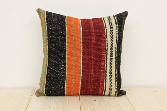 40 Y.OLD FAST DELIVERY Kilim Pillow Cover  by kilimwarehouse, $18.90