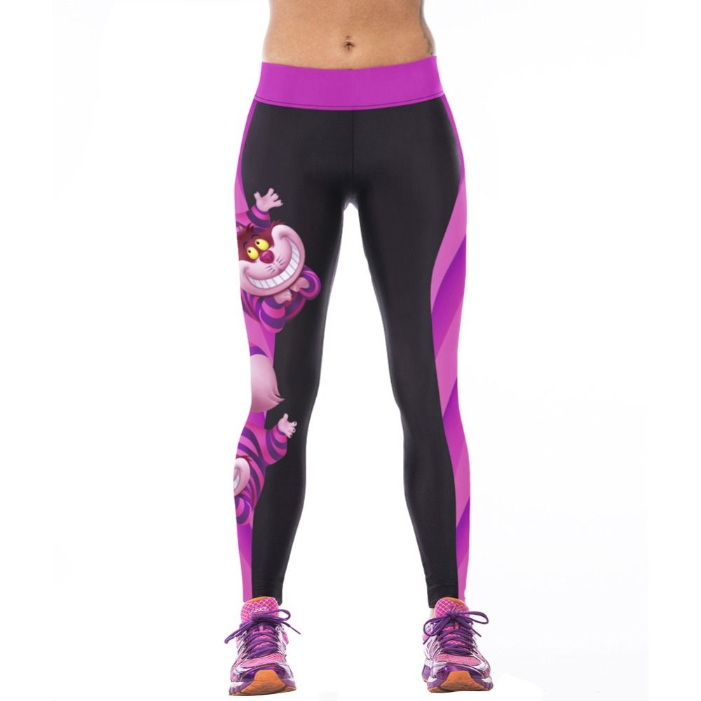 0bb4262f7f4 High Waist Fitness Pants 3D Printed Stretch Fitness Leggings   Price    10.72   FREE Shipping     style