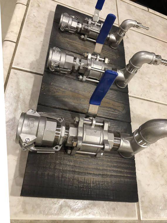 Stainless Steel Liquor Dispenser Valve Assembly Offered Fully