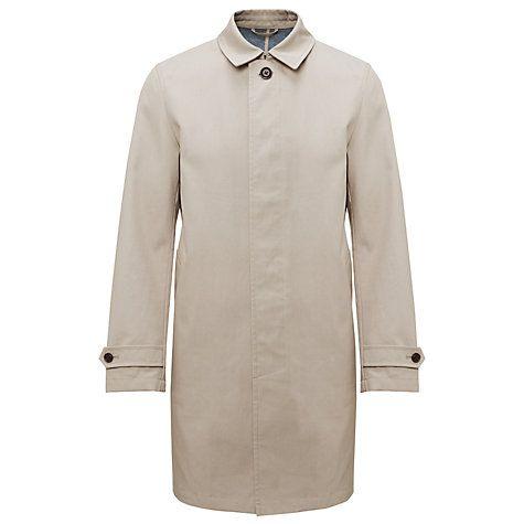 Kin by John Lewis Cotton Bonded Mac | Fashion | John lewis