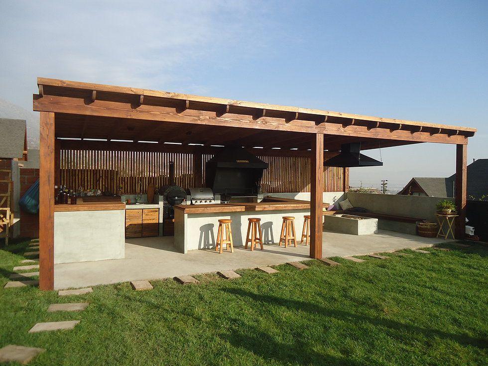 Quincho buscar con google quincho pinterest barbacoa pergolas and decking - Nebulizadores para terrazas baratos ...