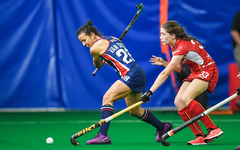 The No 12 U S Women S National Team Looked To Finish The Series Strong Against No 13 Belgium On Thursday Night In Th Spooky Nook Sports Uswnt Belgium Travel