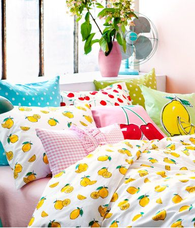 Fruit Theme Bedding From H Amp M Home Interior Inspiration