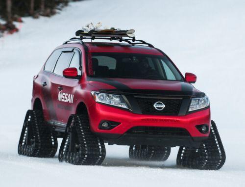 "fullthrottleauto:    Nissan Pathfinder ""Winter Warrior"" Concept '02.2016"
