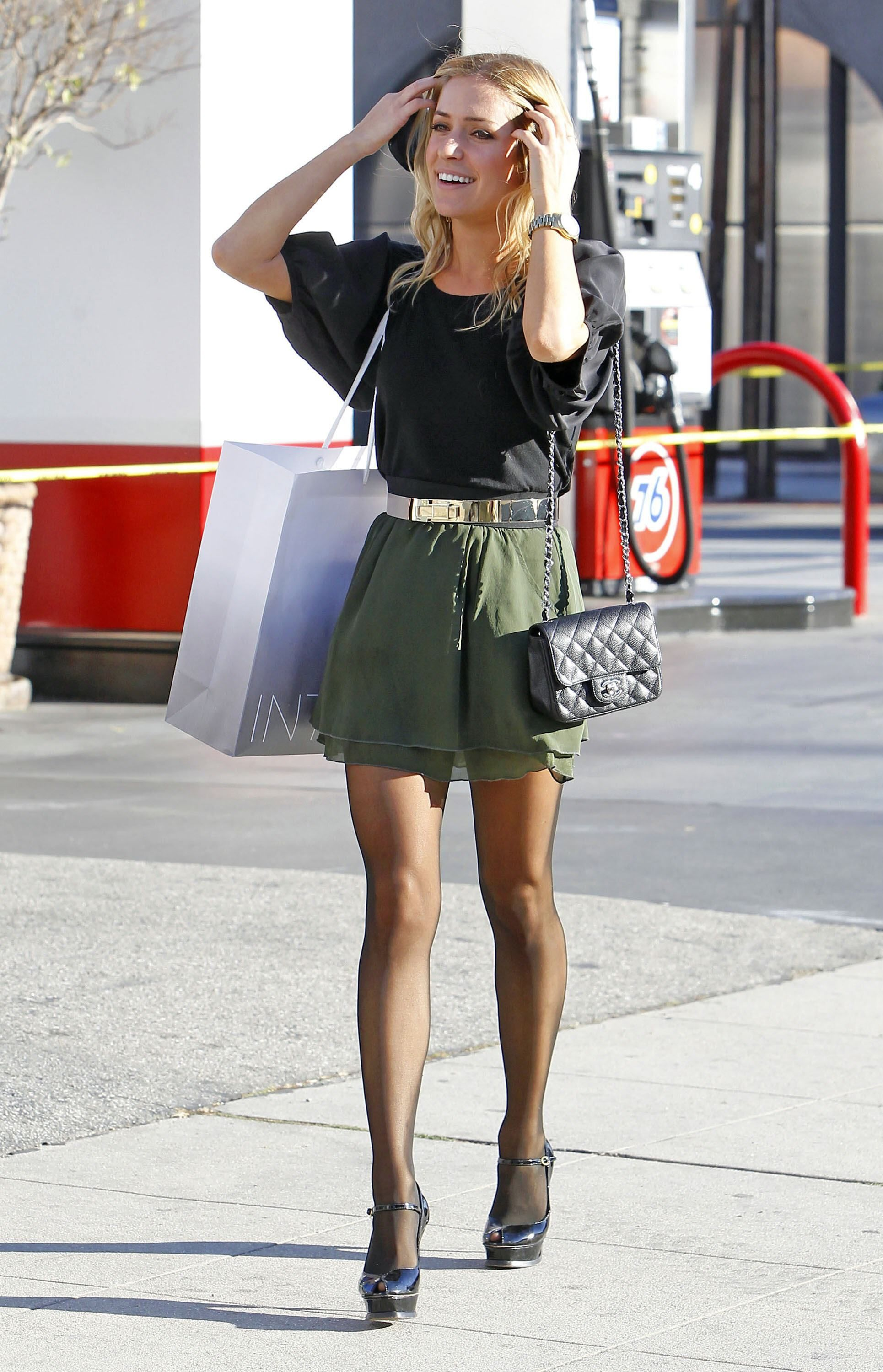 Kristin Cavallari | Pantyhose Outfits | Pinterest | Short skirts ...