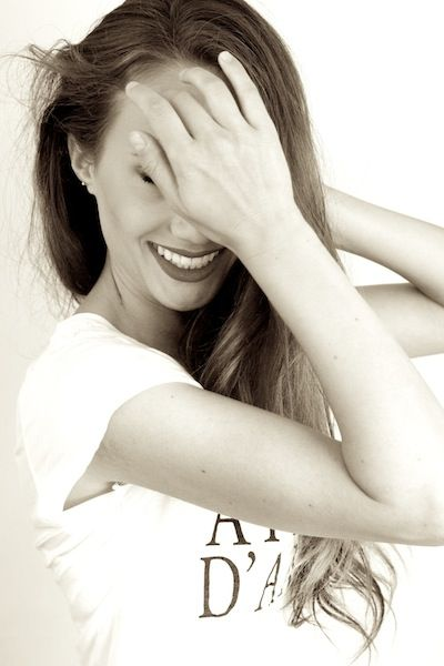 Laughter Portrait Amy Vosters Long Hair Styles Hair Styles Amy