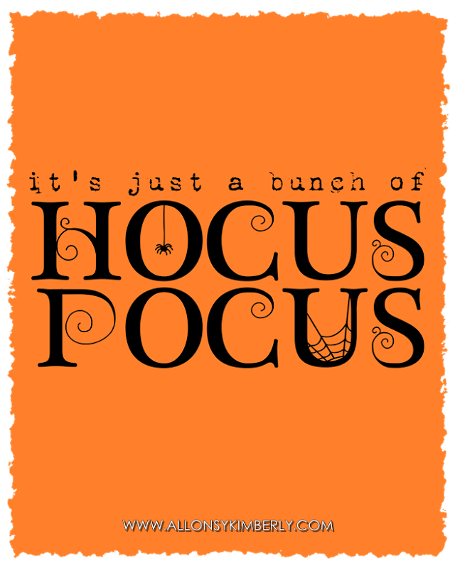 826459d2364 Freebie  It s Just a Bunch of Hocus Pocus Halloween Printable ...