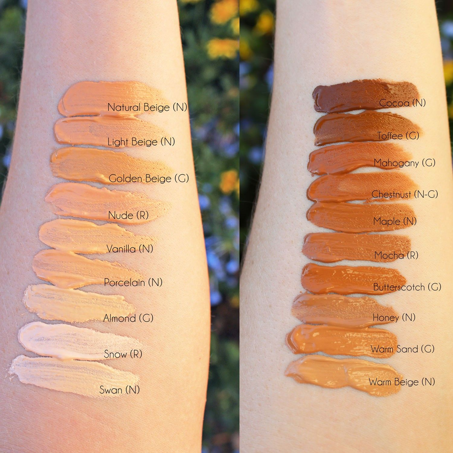 Too Faced Dew You Foundation Review and Swatches Cruelty