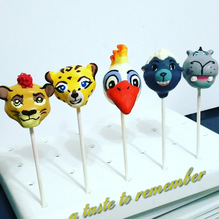 The Lion Guard Cake Pops Lion Guard Cake Lion Guard Birthday