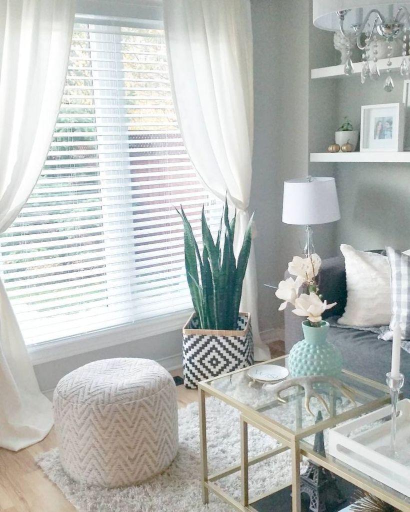 55 Stylish Living Room Curtains Ideas Blinds Home Decor Ideas