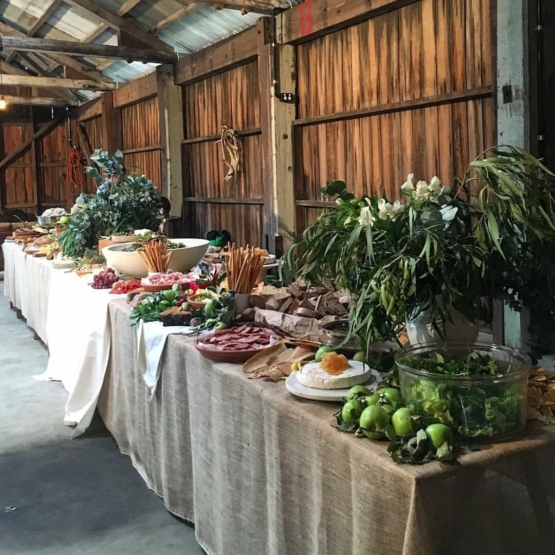Wedding Food Tables: Sarah Glover @ Jandm2016