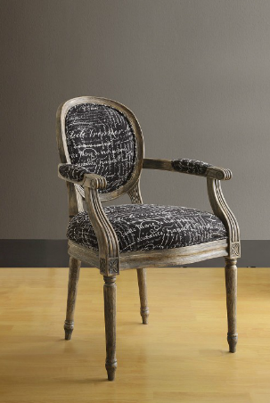 overstock oxford font noir arm chair 172 99 funky furniture