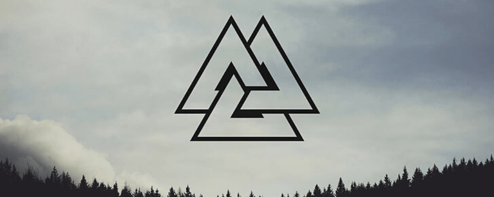 Valknut Symbol Meaning [Origins of Odin's Triangle] in