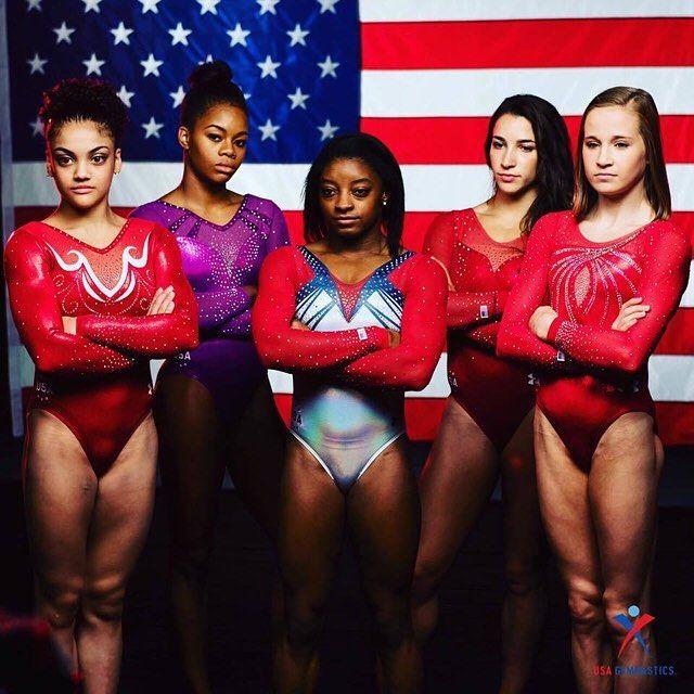 e9c6eab07e4c2 Big congrats to Simone Biles, Laurie Hernandez, Aly Raisman, Gabby Douglas  and Madison Kocian for making the U.S. Olympic Women's Gymnastics Team!