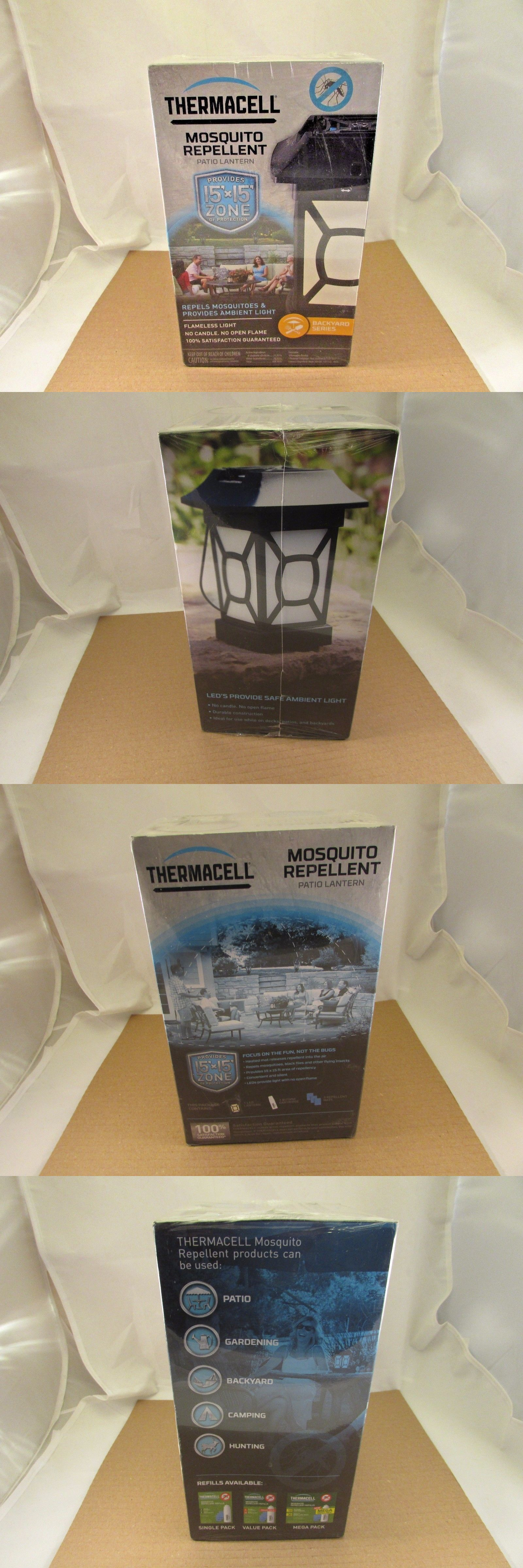 Insect Nets And Repellents 65965: Thermacell Patio Shield Mosquito  Repellent Lantern, Black   Mr