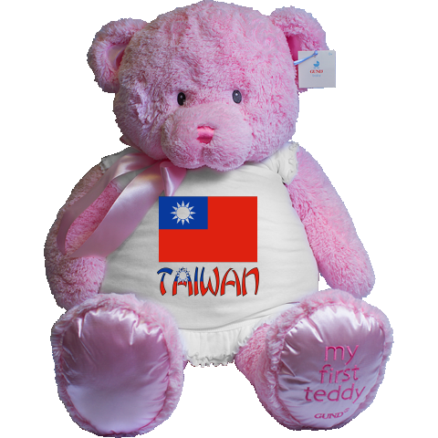 """Lovely design features the #Taiwanese Flag (Republic of China) with the word """"Taiwan"""", below, in the colours or colors of the flag. Terrific for travelers wanting to recall a trip, vacation or holiday. Wonderful for honoring your ethnic heritage, ancestry and culture. Creative teachers may find some items good teaching aids or tools. Great gift ideas for Christmas, birthday or anytime. $99.99 ink.flagnation.com An Auntie Shoe design."""