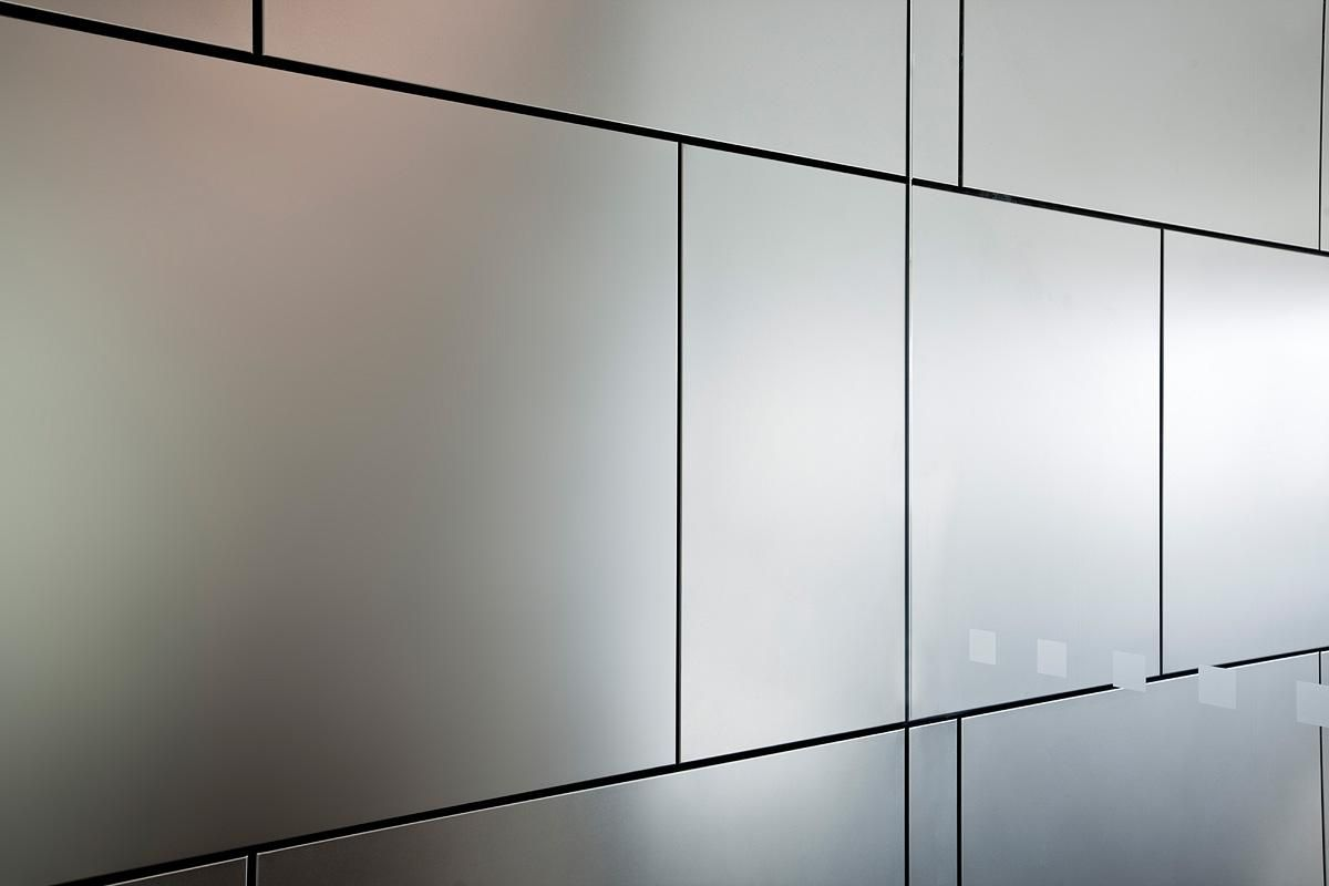Levele Wall Cladding System With Float Panels In Stainless Steel  # Web Muebles Jobe