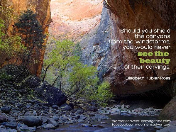 Zion National Park Quotes: Should You Shield The Canyons From The Windstorms, You