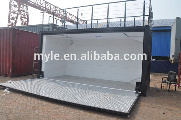 20ft Hydraulic Swing Dooor Container Expandable Container