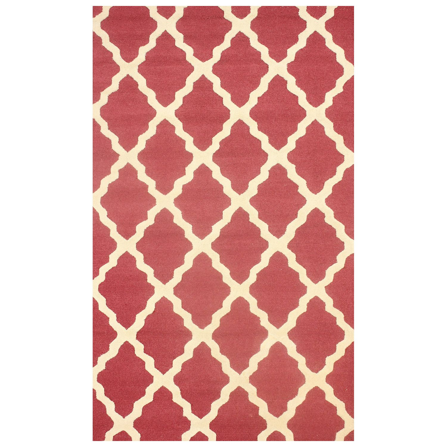 Berry Arbors: Marrakech Trellis Berry Hand Hooked Wool Rug (With Images