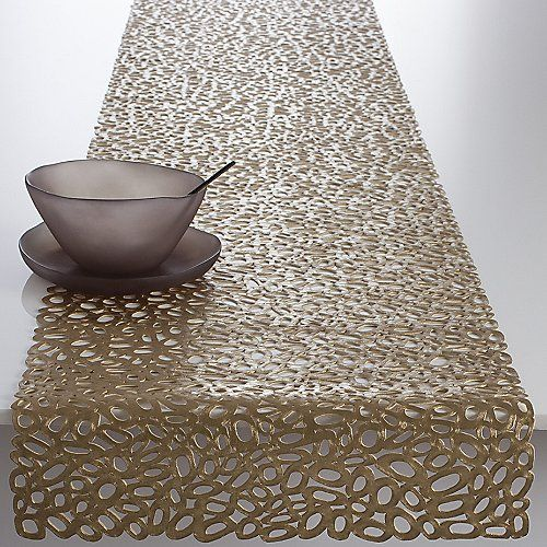 Pebble Table Runner by Chilewich at Lumens.com