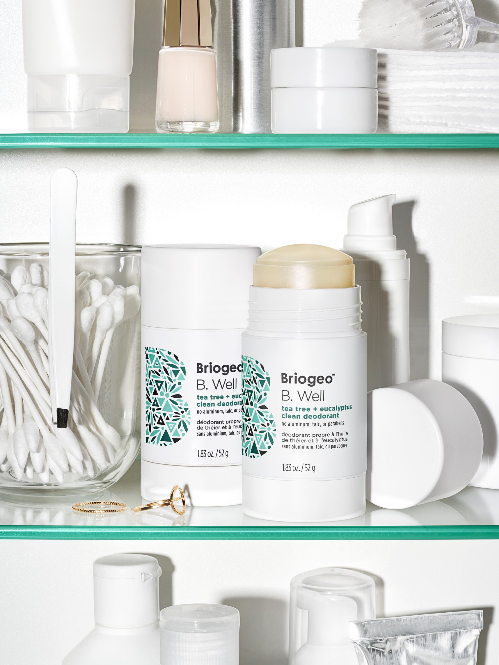 A natural nontoxic plantbased deodorant that wont