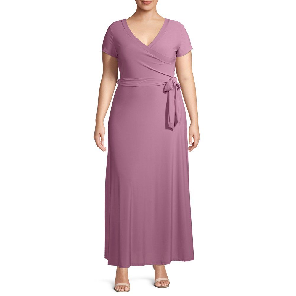 Ella Samani Ella Samani Women S Plus Size Short Sleeve Maxi Wrap Dress Walmart Com Maxi Wrap Dress Wrap Dress Women S Plus Size Shorts [ 1000 x 1000 Pixel ]