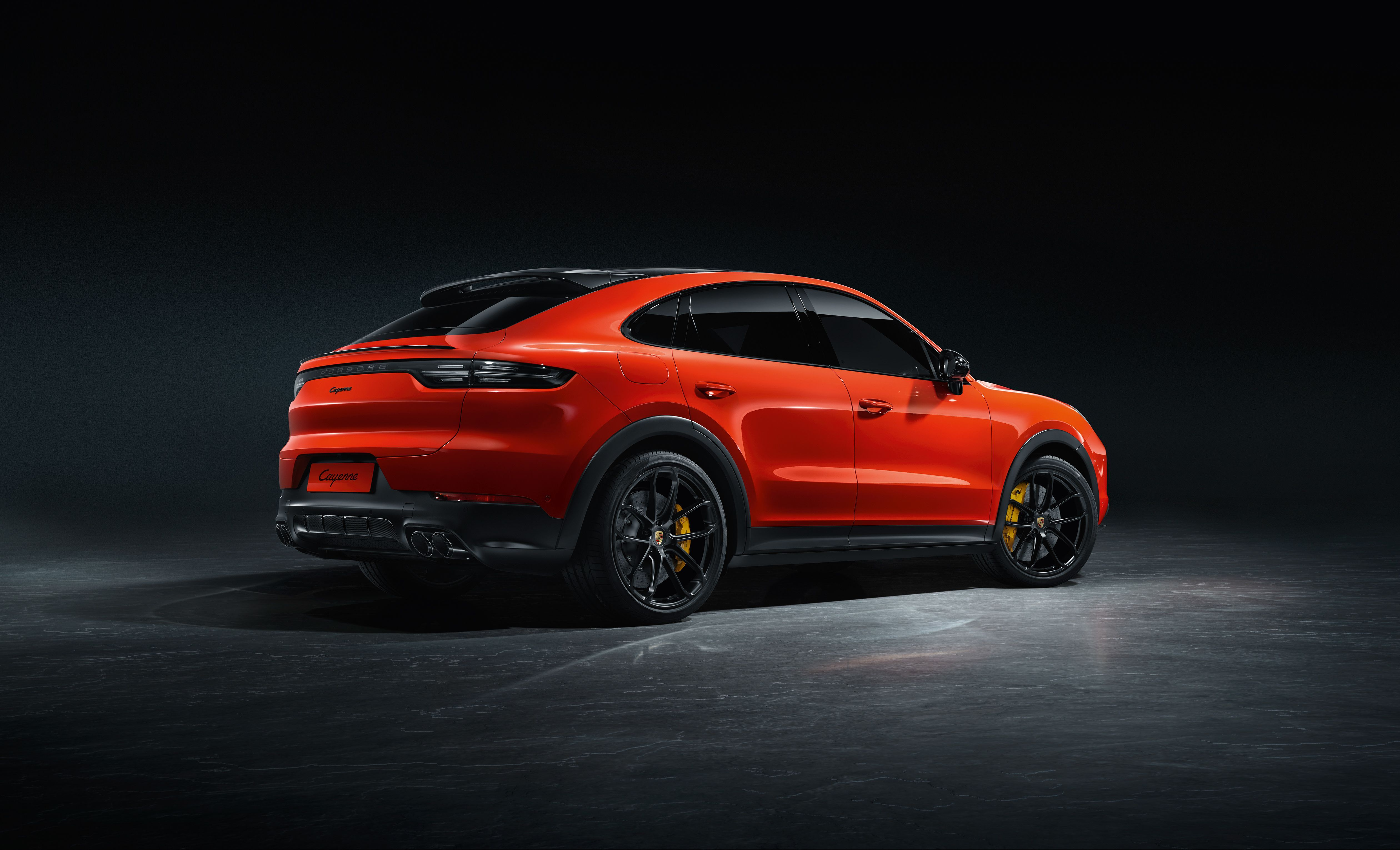 The 2020 Porsche Cayenne Coupe Shows Off Its Shapelier