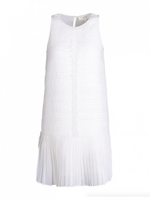 Vanessa Bruno Athe Short Dress in White